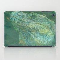 Wild Iguana iPad Case