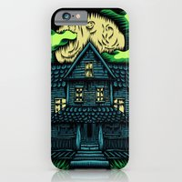 iPhone & iPod Case featuring Haunted House by dominantdinosaur
