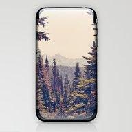 iPhone & iPod Skin featuring Mountains Through The Tr… by Kurt Rahn