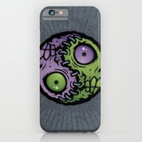 iPhone & iPod Case featuring Zombie Yin-Yang by John Schwegel