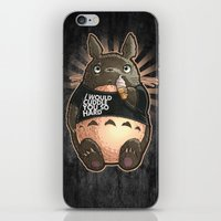 CUDDLE MONSTER iPhone & iPod Skin