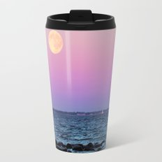 Full Moon on Blue Hour Travel Mug