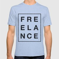 It ain't free Mens Fitted Tee Athletic Blue SMALL