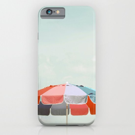 beach umbrella iPhone & iPod Case