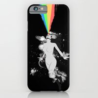 iPhone & iPod Case featuring SUPER PIN UP by KIMKONG