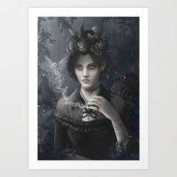 Oisillon (Victorian Lady) Art Print