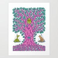 The Tree of Balance Art Print
