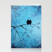 In The Moon Light Stationery Cards