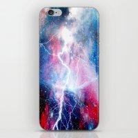 Starred Lightning iPhone & iPod Skin