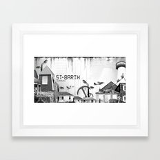Saint Barth Framed Art Print