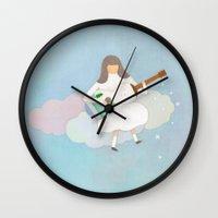 Winter play Wall Clock