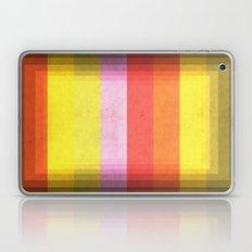 Warm Color Stripes Laptop & iPad Skin