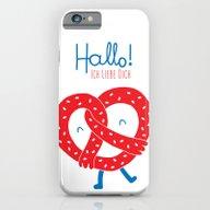 Ich Liebe Dich iPhone 6 Slim Case