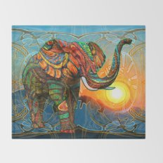 Elephant's Dream Throw Blanket