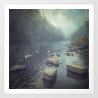Water And Stone New Vers… Art Print