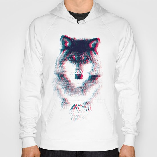 Act like a wolf.  Hoody