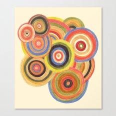 Swirling Desires Canvas Print