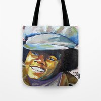 Young Mike Tote Bag