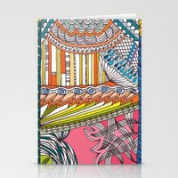 C13 doodle 6 Stationery Cards