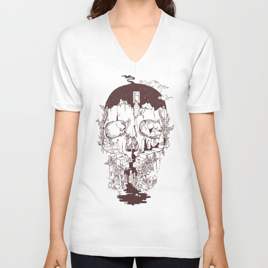 Inside My Head 2.0 V-neck T-shirt