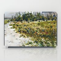 path to the beach iPad Case