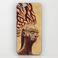 Don't Let The Dark Ones In iPhone & iPod Skin