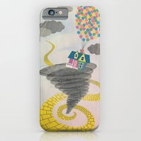 iPhone & iPod Case featuring The Wizard of Up by Robert Scheribel