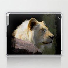 Regal White Lion Laptop & iPad Skin