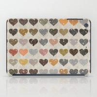 Hearts iPad Case