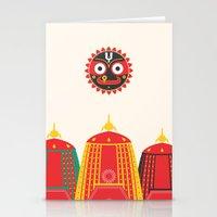 Rathyatra Stationery Cards