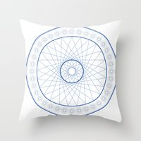 Anime Magic Circle 18 Throw Pillow