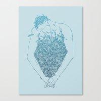 Chest Canvas Print