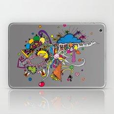 Colored Doodle Laptop & iPad Skin