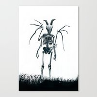 The Jersey Devil Is My Friend Canvas Print