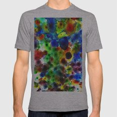 True Colors Mens Fitted Tee Athletic Grey SMALL