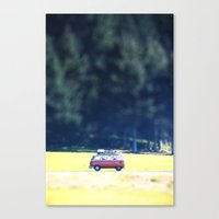 Adventure Van Canvas Print