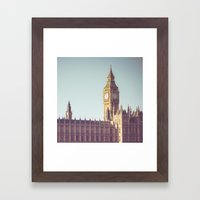 Dreaming Big Ben Framed Art Print