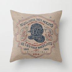 Scaphandre Throw Pillow