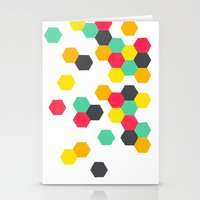 Crazy Clusters Stationery Cards