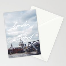 London, Baby! Stationery Cards