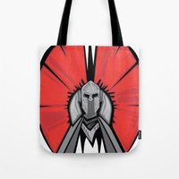 the Red Knight Tote Bag