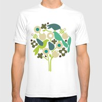birdy num num Mens Fitted Tee White SMALL