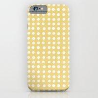 Orange Polka Pattern iPhone 6 Slim Case
