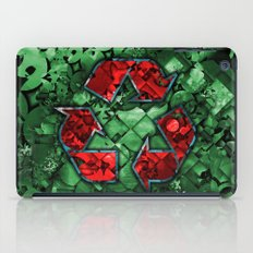 Recycle World - Green iPad Case