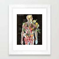 Skeleton Framed Art Print