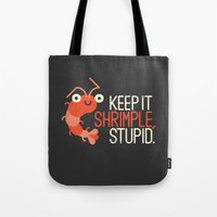The Prawn Principle Tote Bag