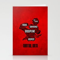 Martial Arts Gives Me Stationery Cards