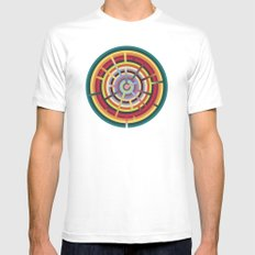 Lost in color Mens Fitted Tee SMALL White