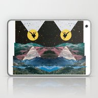 Laptop & iPad Skin featuring Man On The Moon by Lerson Pannawit