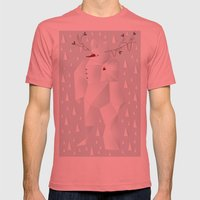 Winter Freez Mens Fitted Tee Pomegranate SMALL